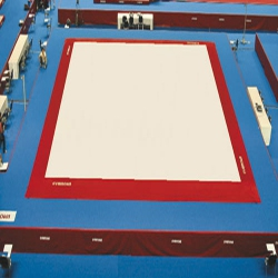 Competition exercise floor FIG approved