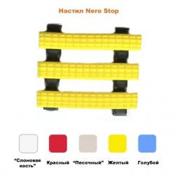 Roughened surface mat Nero stop